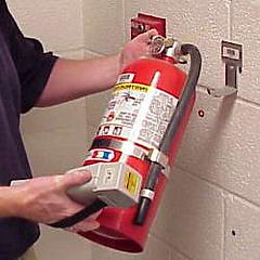 Inspection, 6 year Maintenance, Recharge, Fire Extinguisher, NFPA 10
