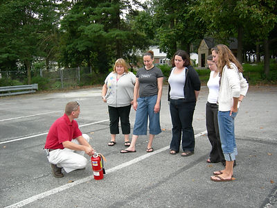 Fire Extinguisher Training, Employee Training, Employee Safety