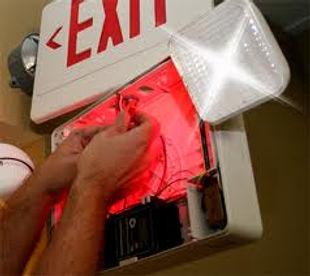 Exit Light Inspection, Exit Light Service, Columbus, Cincinnati