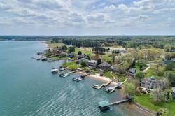 Aerial Photo of Lake Norman homes