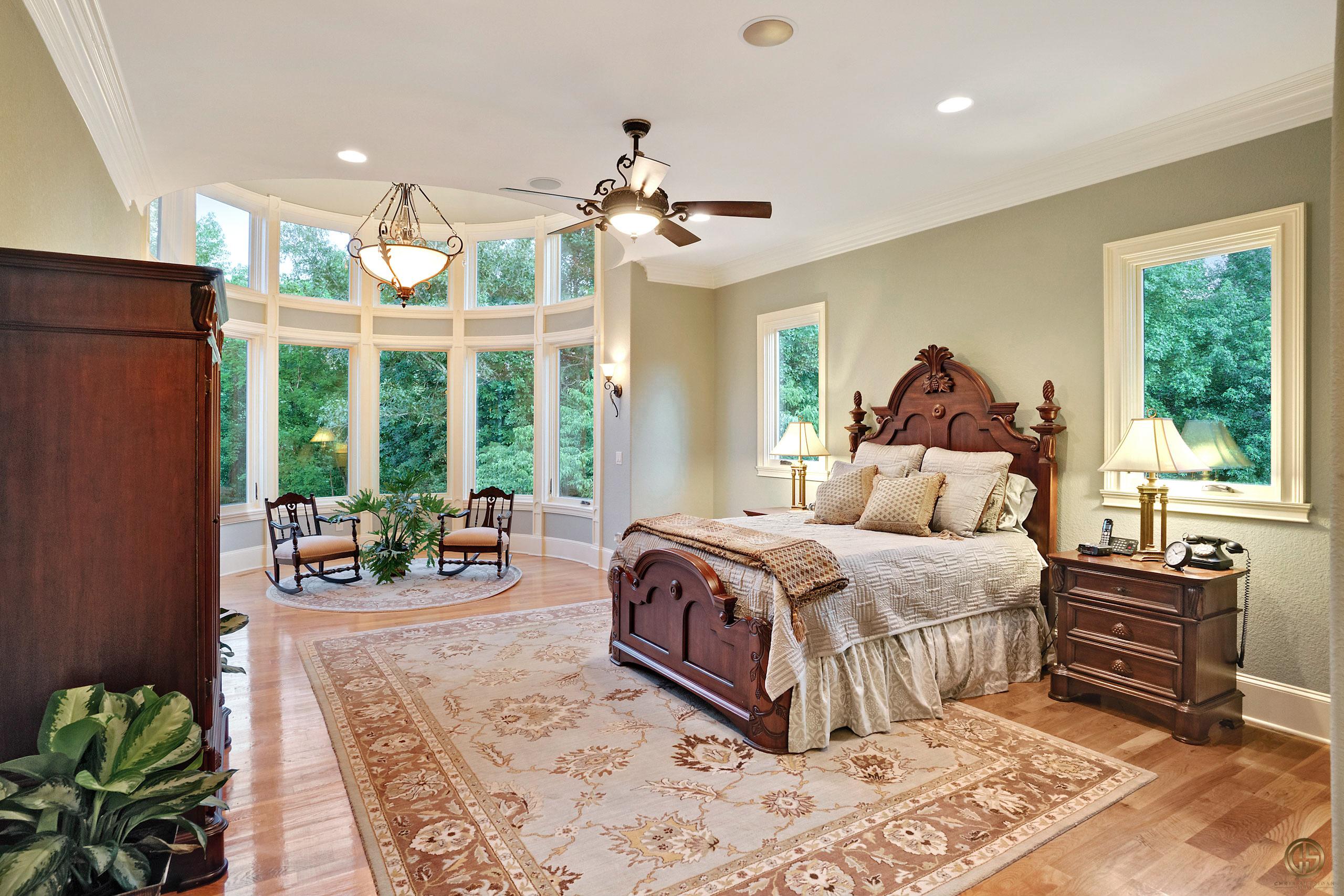 Stunning architectural interior shot