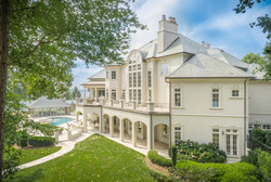 Stunning Luxury Home Aerial Image