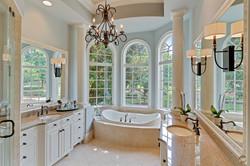 Beautifully photographed master bath