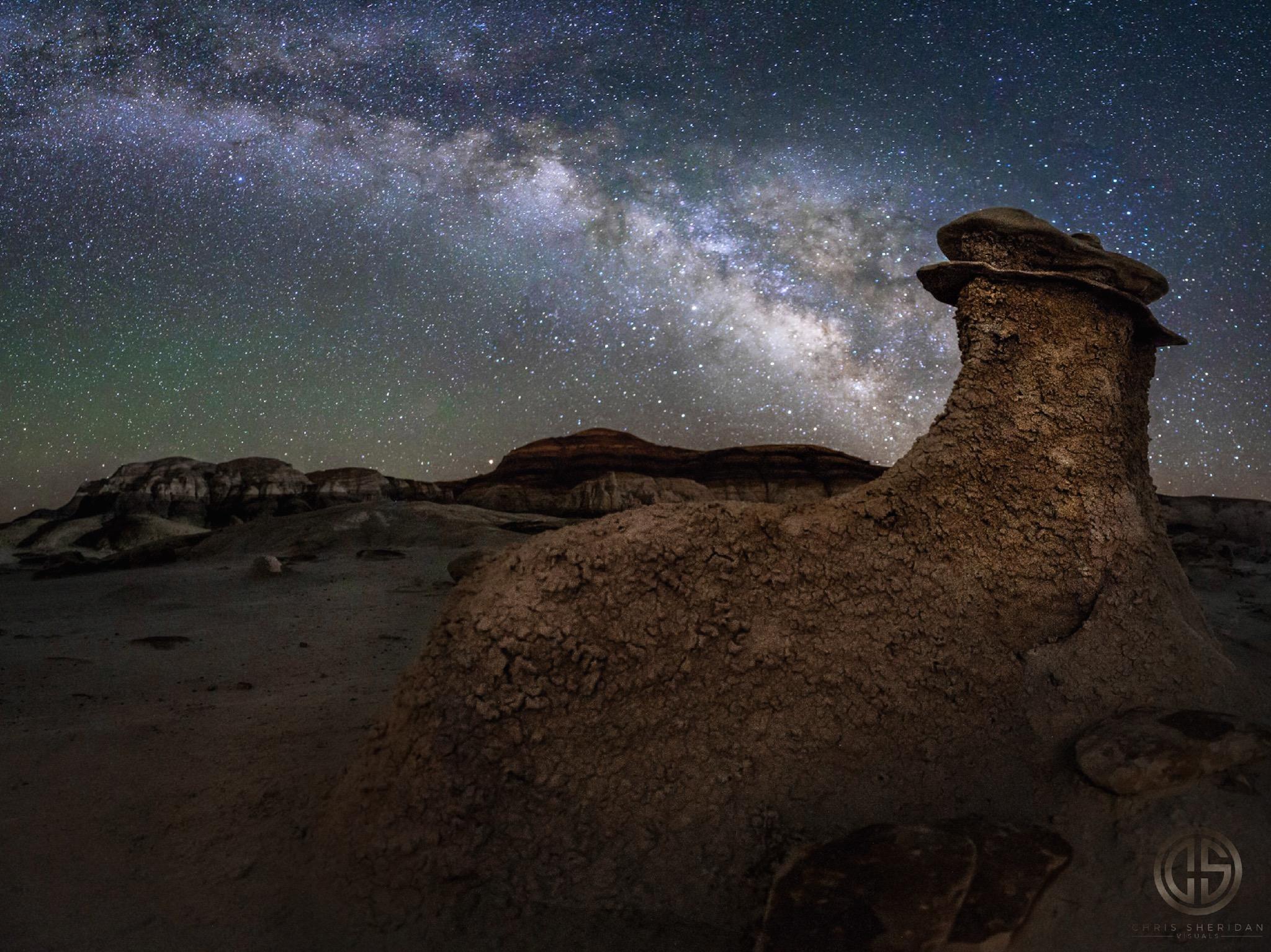 Milky Way Galaxy Photograph