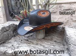 86 VD SOMBRERO PARCHE ALA Negro Tabaco f