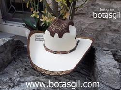 82 VD SOMBRERO PARCHE TECHO Choco Dorado