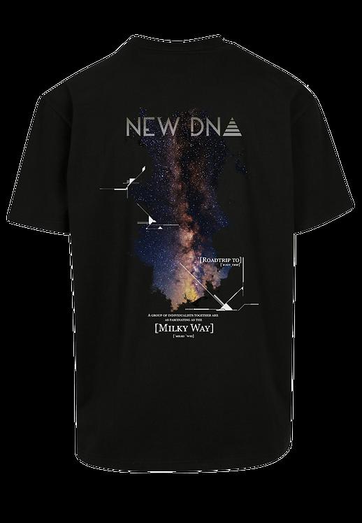 ND RTMW Oversize Shirt schwarz