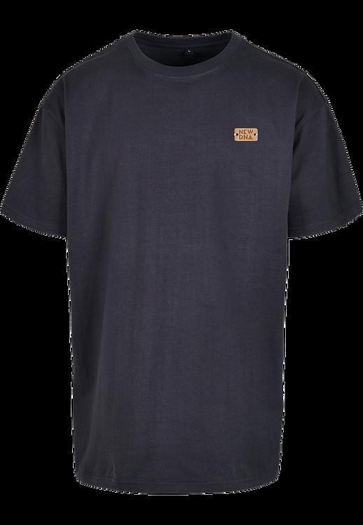 BLANC HOOK Oversize Shirt navy