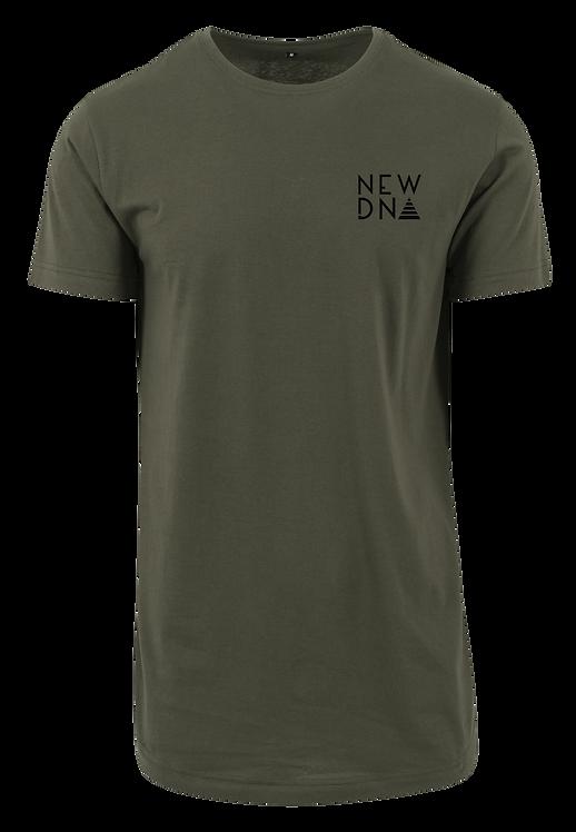 ND Long Shirt oliv schwarz