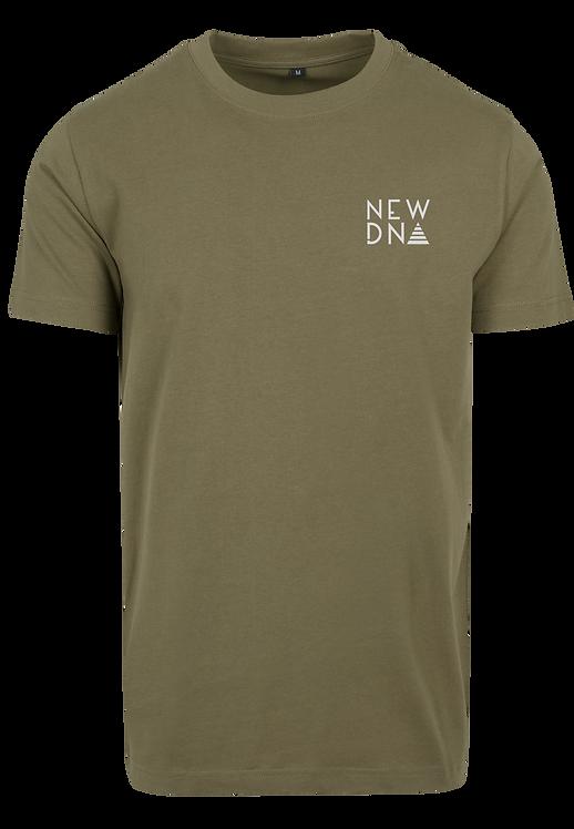 ND Classic Shirt oliv|weiß