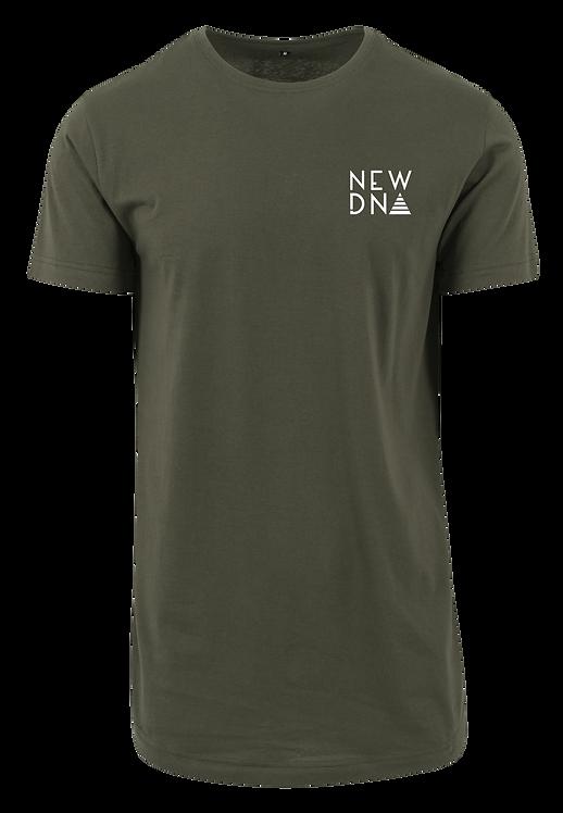 ND Long Shirt oliv weiß