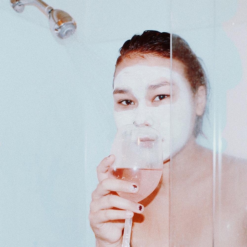 Self-portrait by Kate Wydeven