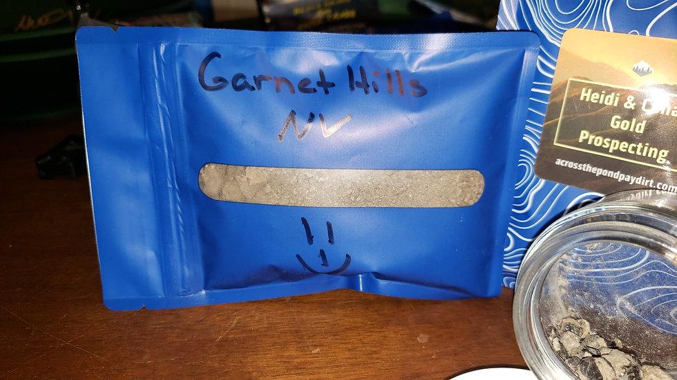 Garnet Hill, Nevada - Garnet Paydirt
