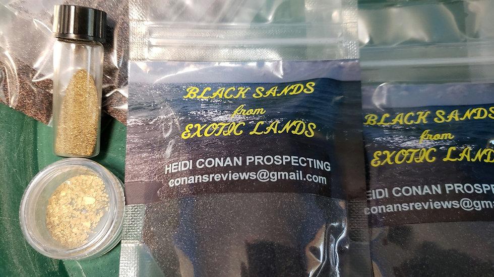 BIG Black Sands from Exotic Lands