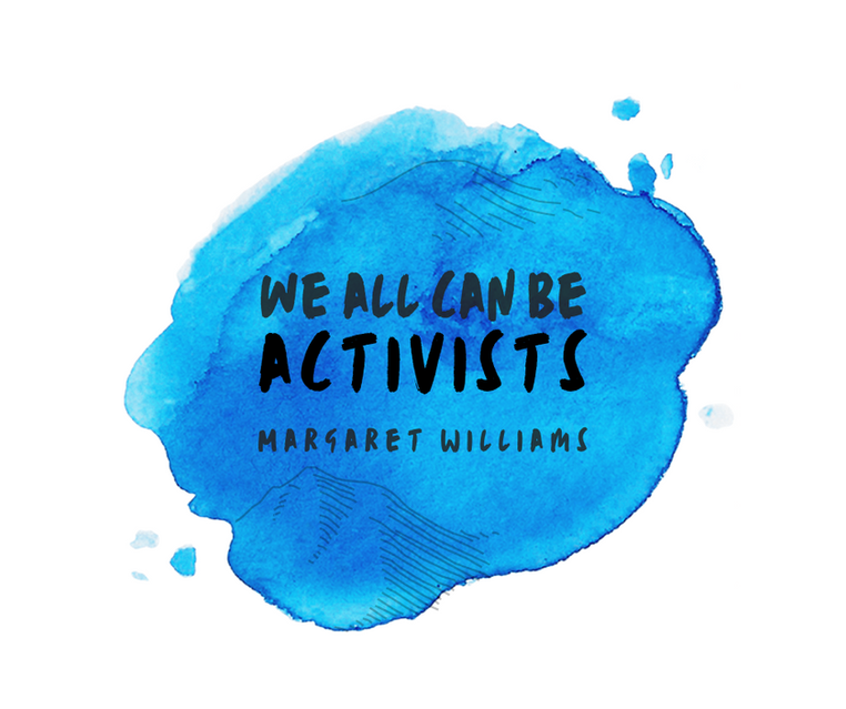 "The Meaning behind my Creative Piece ""We all can be Activists"""
