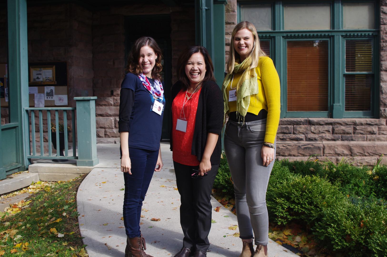 Amy, Carmela, & Ooma