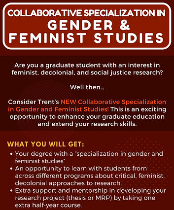 Copy of Gender and feminist studies flye