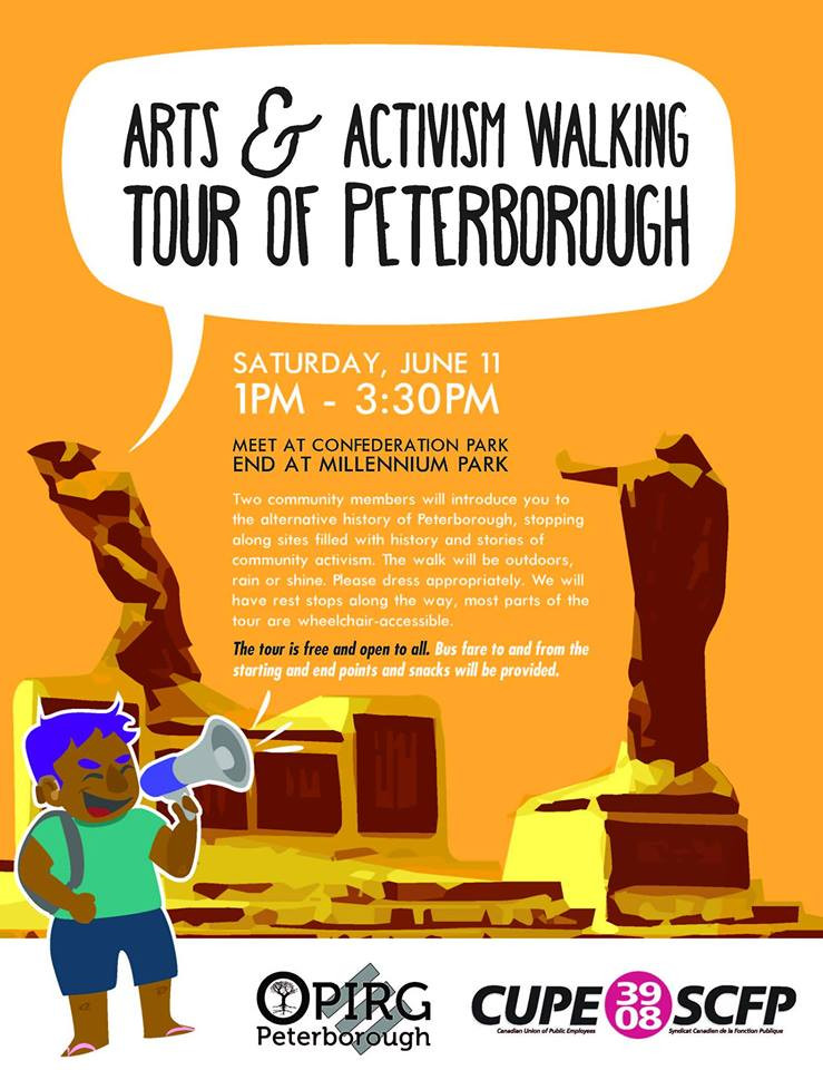ARTS & ACTIVISM WALKING TOUR OF PETERBOROUGH