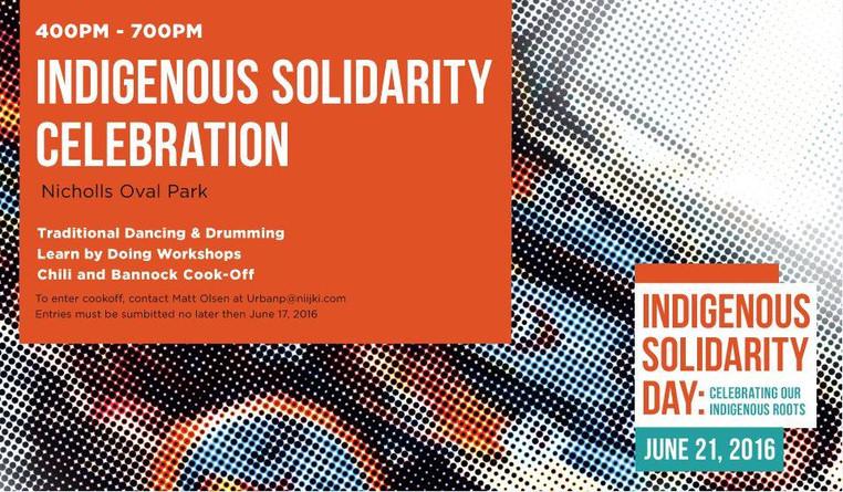 Indigenous Solidarity Celebration in Nogojiwanong