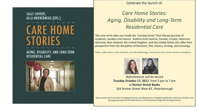 October 17 @ 5pm | Book Launch: Care Home Stories!