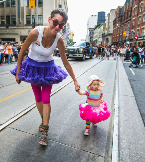 Finding Aging, Intergenerationality, and Activism at Pride Toronto