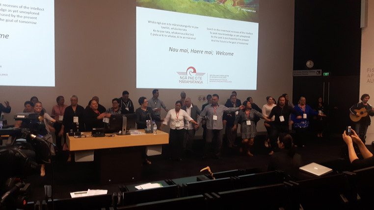 Mehrangiz at the International Indigenous Research Conference!