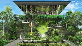"""Dubai Expo 2021 is an international showcase of food, music, technology, art, science, culture and creativity as a platform to respond to global challenges that we face today. The Singapore Pavilion's own message of """"Nature. Nurture. Future."""" is a display of Singapore's unique urban-nature matrix to achieve liveability and resilience."""