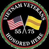 Vietnam Veterans Honored Here