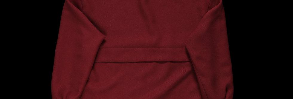 hidden logo pullover