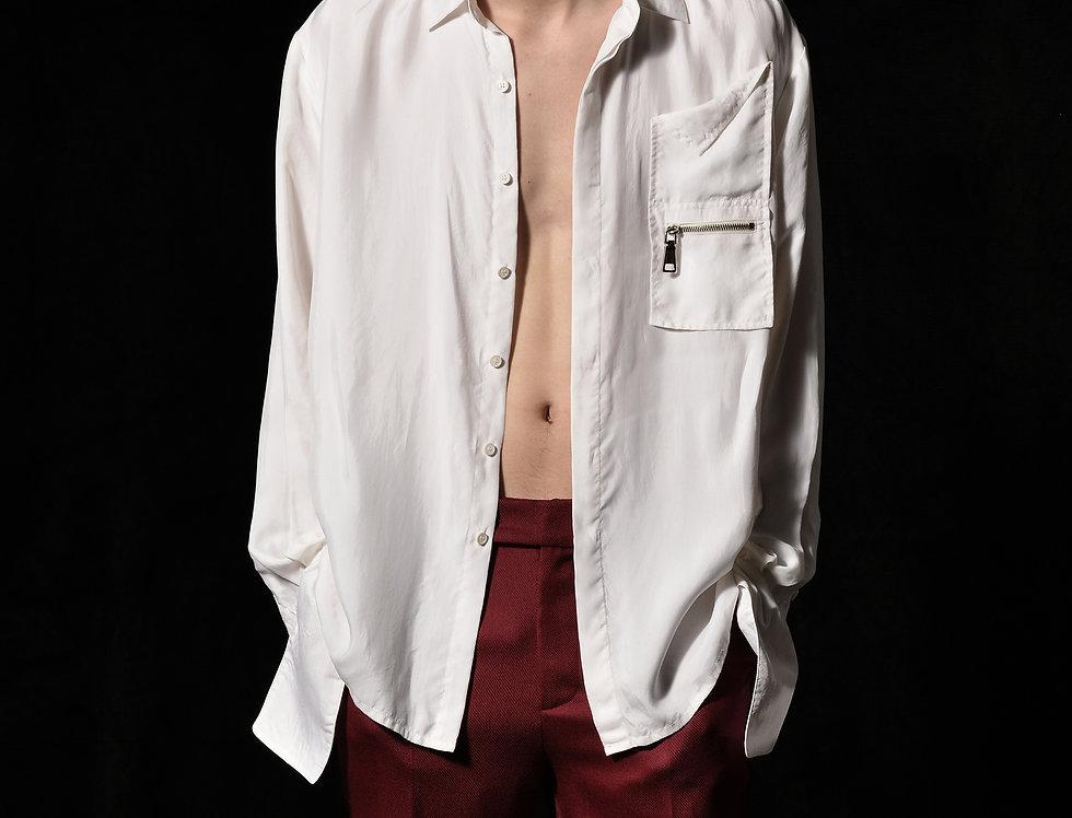 front pocket shirt