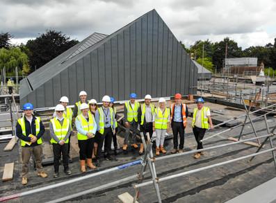 Raising the roof at Guildford Crematorium