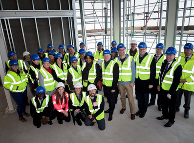 Weston Street - Topping Out