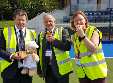Buxton Bear faces the Great Cookie Challenge!