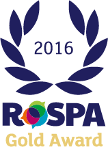 Buxton is a winner in the RoSPA Awards 2016