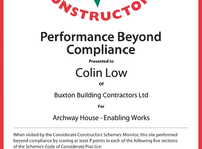 Performance Beyond Compliance