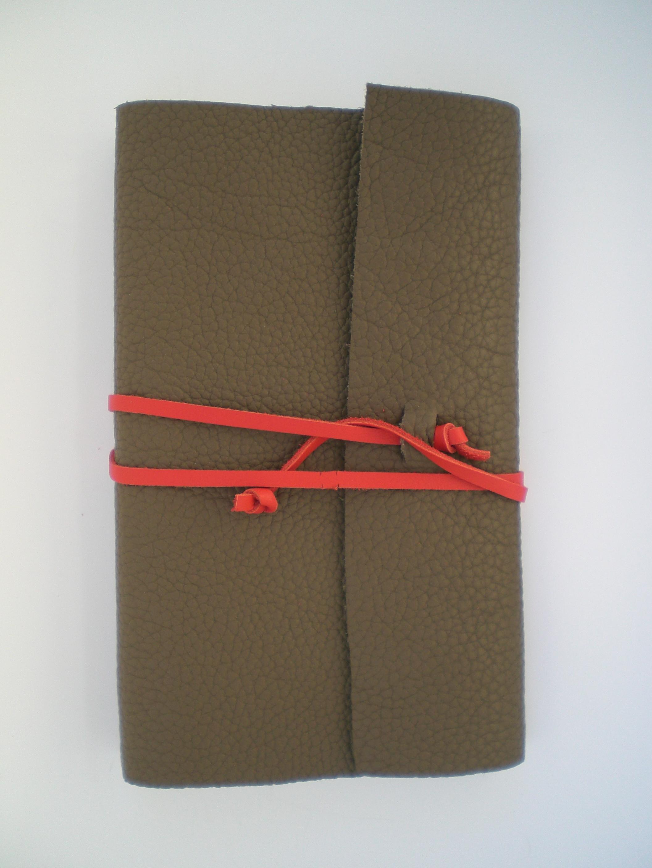 Carnet cuir lien cuir