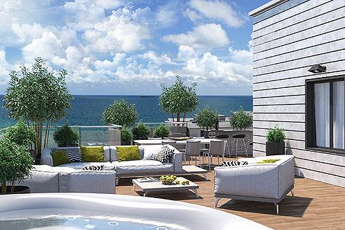 VIEW - квартиры с видом на море в Нетании