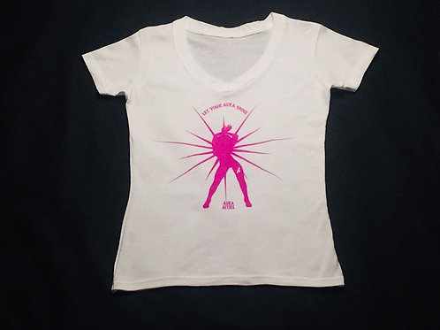 Pink Girl Aura