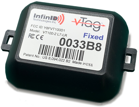 V-Tag Fixed Position Tag, 6-Yr Battery (TAA)