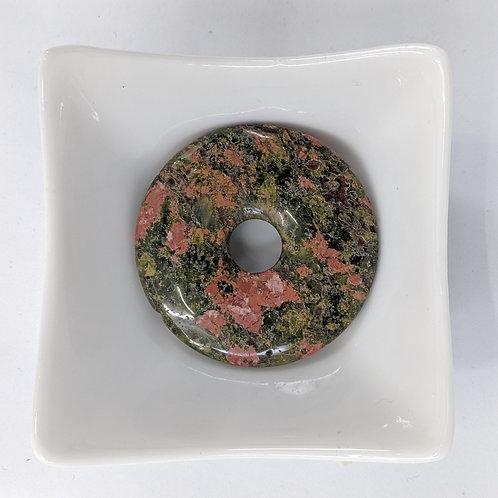 Unakite - Donut - 50mm