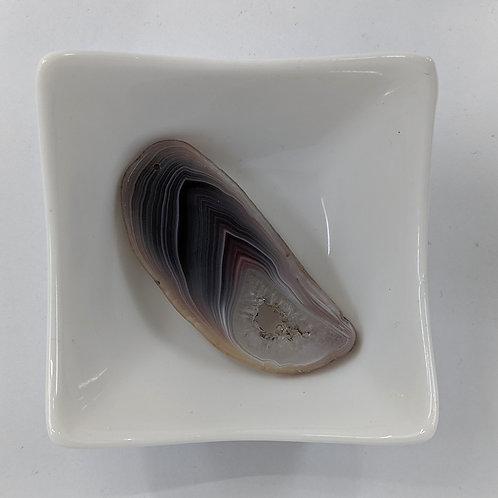Gemstone - Slice Pendant - 60x28mm