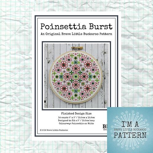 Poinsettia Burst DIY PDF Pattern