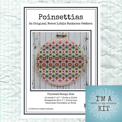 Poinsettias - DIY KIT