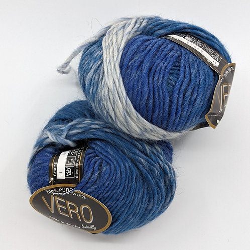Naturally New Zealand Vero - Variegated Blue *Bulk Lot 10 Balls*
