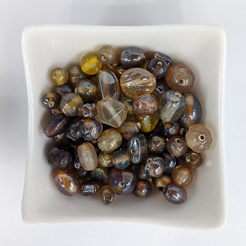 Bead Mix 07 - Gold Lustre - 50g