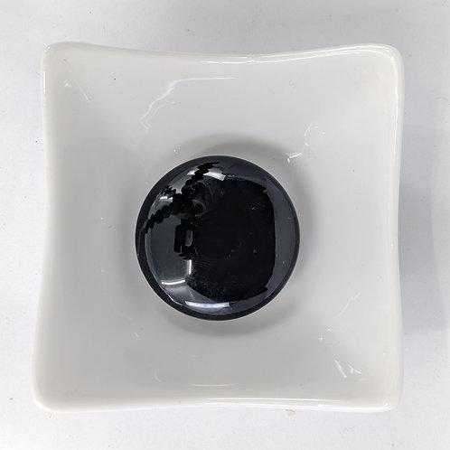 Black Agate - Coin - 38mm