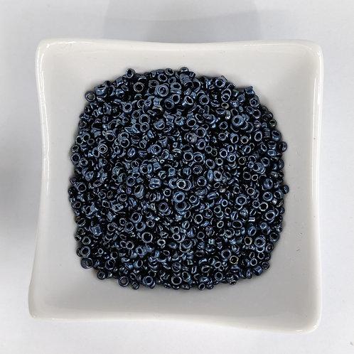 Seed Beads - #8 & #11 - Gunmetal - 50g