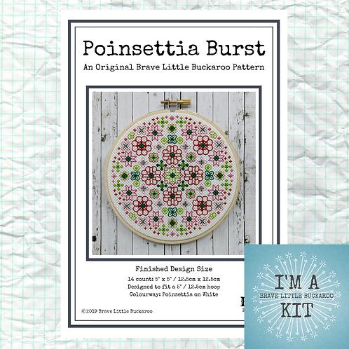 Poinsettia Burst - DIY KIT
