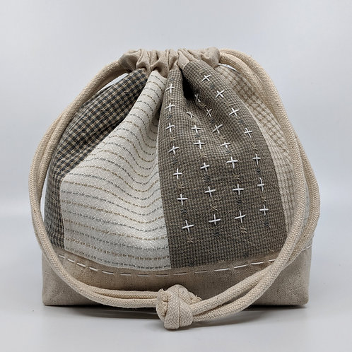 The Comfort Collection - Drawstring Project Bag - #14