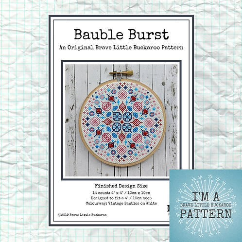 Bauble Burst DIY PDF Pattern